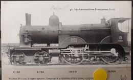 N°45) LES LOCOMOTIVES FRANCAISES -NORD N° 43 - Treni