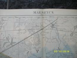 Topografische / Stafkaart Van Maaseik (Achel Weert Thorn Kessenich Ophoven Opitter Kaulille Bocholt) - Cartes Topographiques
