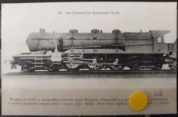 N°46) LES LOCOMOTIVES FRANCAISES -NORD N° 107 - Trains