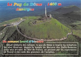 LE PUY DE DOME Desservi Par Une Route Qui Presente Une Pente De 12 Pourcent 18(scan Recto-verso) MA2213 - Frankreich