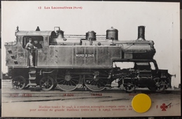 N°47) LES LOCOMOTIVES FRANCAISES -NORD N° 12 - Treni