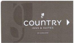 Country-Inns---Suites-by-Carlson[2104]---key Card, Room Key, Schlusselkarte, Hotelkarte - Chiavi Elettroniche Di Alberghi