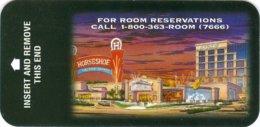 Horseshoe-Casino-Hotel[1951]--key Card, Room Key, Schlusselkarte, Hotelkarte - Cartas De Hotels
