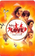 Mirage Beatles-Love Cirque-du-Soleil-LVP-740076[1]-2254-key Card, Room Key, Schlusselkarte, Hotelkarte - Cartas De Hotels