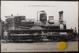 N°48) LES LOCOMOTIVES FRANCAISES -P.L.M. N° 2 - Trains