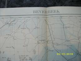 Topografische / Stafkaart Van Beverbeek (Geldrop Lierop Heeze Asten Liessel Nederweert Budel Maarheeze) - Cartes Topographiques