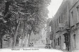 81)   GAILLAC  -  Boulevard Gambetta - Gaillac