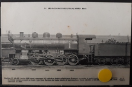 N°49) LES LOCOMOTIVES FRANCAISES -ETAT. N° 151 - Treni