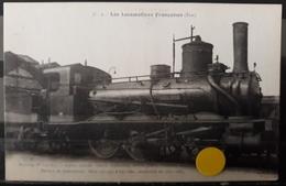 N°50) LES LOCOMOTIVES FRANCAISES -ETAT. N° 6 - Treinen