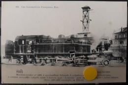 N°51) LES LOCOMOTIVES FRANCAISES -EST. N° 150 - Trains