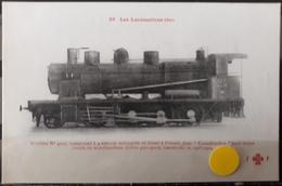 N°52) LES LOCOMOTIVES FRANCAISES -EST. N° 28 - Trains
