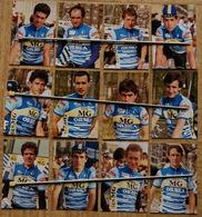 CYCLISME: CYCLISTE : TIRAGE KODAK EQUIPE GIN MG ORBEA 1985 12 PHOTOS - Cyclisme