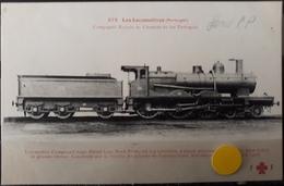 N°53) LES LOCOMOTIVES PORTUGAL -. N° 279 - Treni