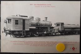 N°54) LES LOCOMOTIVES ITALIE -. N° 269 - Treni