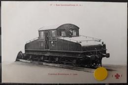 N°54) LES LOCOMOTIVES P.O. -. N° 17 - Trains