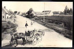 CAYEUX SUR MER 80 - L'Arrivée - Ane/Charette - #B328 - Cayeux Sur Mer