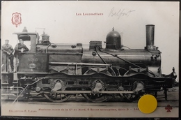 N°56) LES LOCOMOTIVES  -. N° - Trains