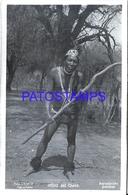 125418 ARGENTINA CHACO COSTUMES NATIVE MAN PHOTO NO POSTAL POSTCARD - Photographie