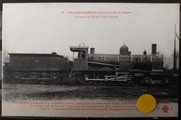 N°57) LES LOCOMOTIVES  -GRAND DUCHE DE BADE. N°8 - Treinen