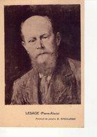 CPA  -  DIVERS  88 - LESAGE PIERRE ALEXIS - PORTRAIT DU PEINTRE G EVEILLARD - Peintures & Tableaux