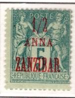 Ex Colonie Française  *  Zanzibar *  Poste  17  N* - Sansibar (1894-1904)