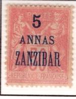 Ex Colonie Française  *  Zanzibar *  Poste  28  N* - Sansibar (1894-1904)