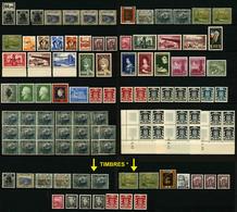 SARRE - LOT DE 104 TIMBRES NEUFS - 84 TIMBRES ** ET 20 TIMBRES * - Collezioni & Lotti