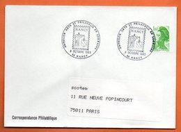54 NANCY   ARPHILOR   1983 Lettre Entière N° AB 139 - Poststempel (Briefe)