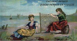 CHROMO CHOCOLAT PAYRAUD  REPARATION DES FILETS DE PECHE - Chocolate