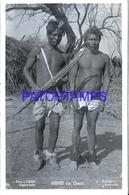 125424 ARGENTINA CHACO COSTUMES NATIVE TWO MAN PHOTO NO POSTAL POSTCARD - Fotografie