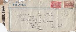 Hong Kong To Canada Incl War Censor 3x WW2 Worn Cover Envelope S - Postzegels