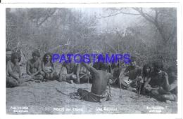 125426 ARGENTINA CHACO COSTUMES NATIVE REUNION PHOTO NO POSTAL POSTCARD - Photographie