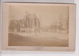 ST JANSKERKHOF UTRECHT PHOT P OOSTERHUIS AMSTERDAM   HOLLAND NEDERLAND 16*10CM ALBUMEN Cabinet  Photograph - Foto's