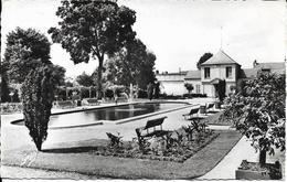 Cpsm évreux, Le Jardin Public, Bassin D'eau - Evreux