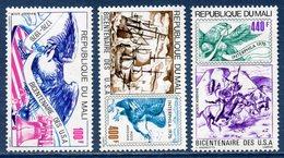 République Du Mali - Poste Aérienne  - YT PA N° 273 à 275 - Neuf Sans Charnière - 1976 - Mali (1959-...)
