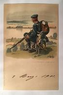 30027 Il Riposo Del Soldato Anno 1901 - Regiments