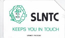 Sierra Leone, SRL-07, 100 Units, Black Logo SLNTC (Urmet Patent), 2 Scans. - Sierra Leone