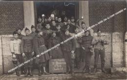 "FOTOKAART CARTE PHOTO 17.12.1922 MILITAIREN SOLDATEN ""DE SOEPETERS"" KAZERNE 8-9 BERCHEM 2e GENIE 2DA 4e COMP CHAMBRE 48 - Antwerpen"