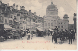 BERN - Bärenplatz Und Parlamentsgabäude - BE Berne