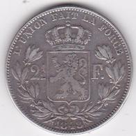 Belgique. 2 1/2 Francs 1848, Léopold Ier, En Argent - 1831-1865: Léopold I