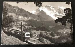 Wengen Wengernalpbahn WAB /Photo Gyger Adelboden - BE Berne