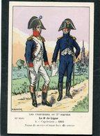 CPA - Illustration - LES UNIFORMES DU 1er EMPIRE - Le 8è De Ligne - Uniforms