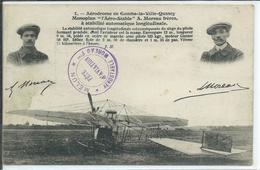 """Aérodrome De Combs-la-Ville-Quincy-Monoplan """"L'Aéro-Stable"""" A.Moreau Frères à Stabilité Automatique - Combs La Ville"""