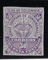 Colombie Cundinamarca N°5 - Neuf * Avec Charnière - TB - Colombia