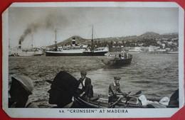 SS. CRIJNSSEN AT MADEIRA - KONINLIJKE EDERLANDSCHE STOOMBOOT MAATSCHAPPIJ N.V. AMSTERDAM - Paquebots