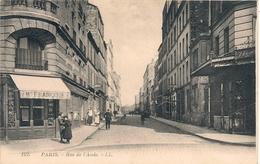 Cpa75 Paris 14 Rue De L'Aude - Arrondissement: 09