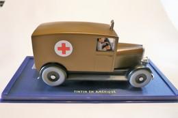 Voiture TINTIN – 1 Iere  Edition Atlas - Réf 2 118 051 A – L'ambulance De Chicago De Tintin En Amérique (1945) – (Divers - Voitures, Camions, Bus