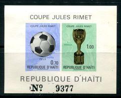 Haiti  SC# 655 Souv Sheet MNH - Haití