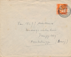 Nederlands Indië - 1936 - 12,5 Cent Wilhelmina Op Cover Van PV1 Djokjakarta Naar Poerbolinggo - Niederländisch-Indien
