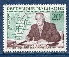 République Malgache - Madagascar - YT N° 353 - Neuf Sans Charnière - 1960 - Madagascar (1960-...)